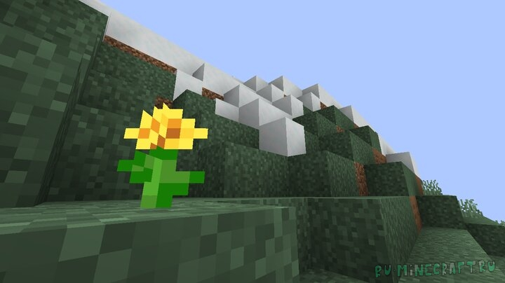 Better Grass/Snow Sides - улучшенный вид земли и снега [1.16.1] [1.15.2] [16x]