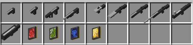 Arms Of Fire - простое оружие [1.16.1]