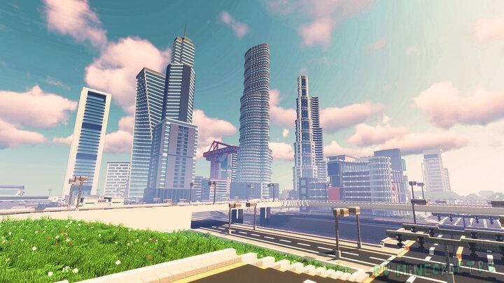 Modern City 2.0 - современный город 2.0 [1.16.1] [1.15.2]