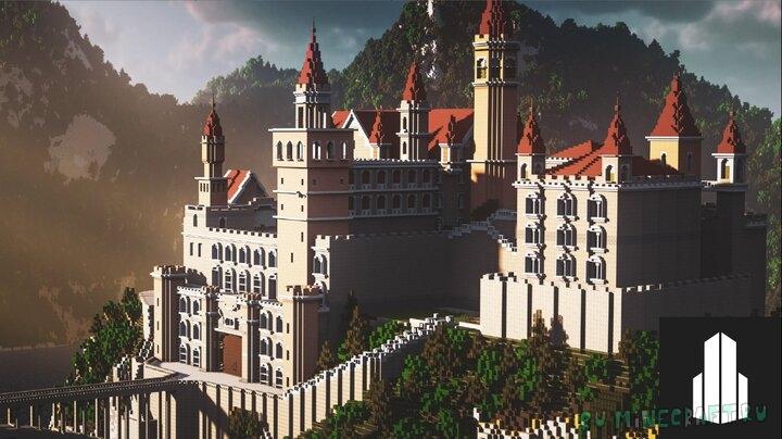 Minecraft Fantasy Castle - выдуманный замок [1.16.1] [1.15.2]