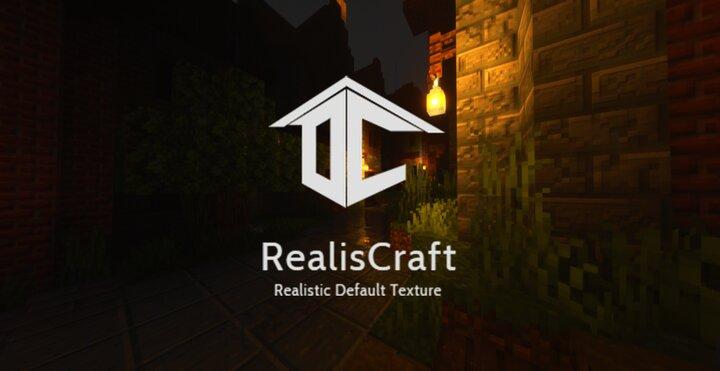 RealisCraft - дефолтный реализм [1.16.1] [1.15.2] [1.14.4] [128x]