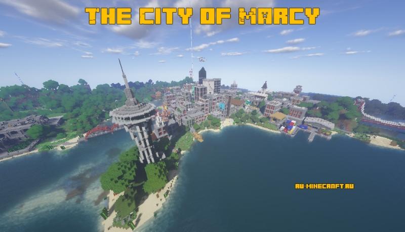 The City of Marcy - большой город на берегу моря [1.16.1]