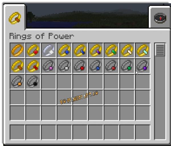 Rings of Power Mod - Кольца Всевластия [1.7.10]