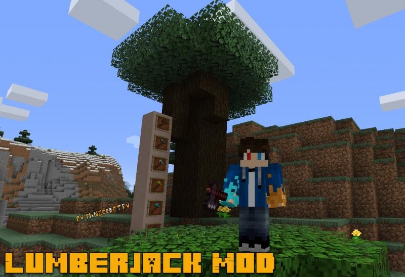 Lumberjack Mod — быстро срубить дерево [1.16.1] [1.15.2] [1.14.4] [1.12.2] [1.11.2] [1.10.2] [1.8] [1.7.10]