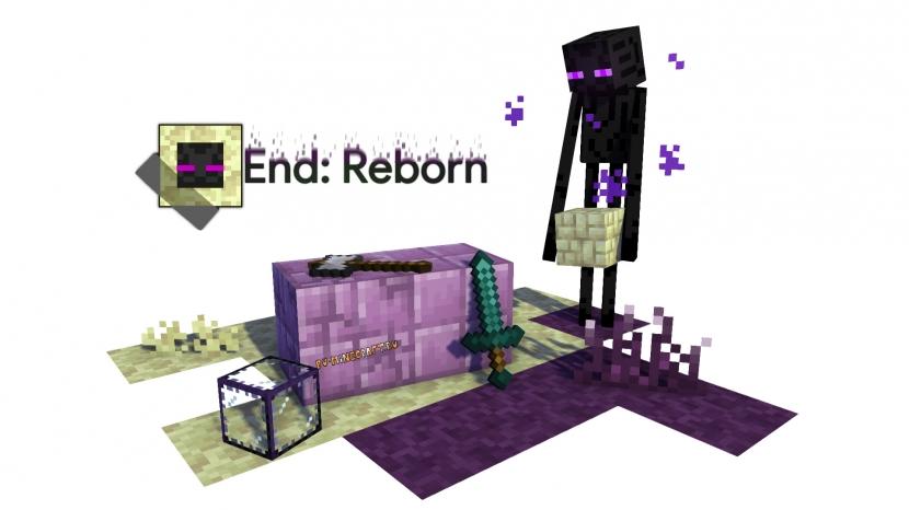 End: Reborn - продолжение игры, улучшенный Край [1.16.2] [1.15.2] [1.14.4] [1.12.2]