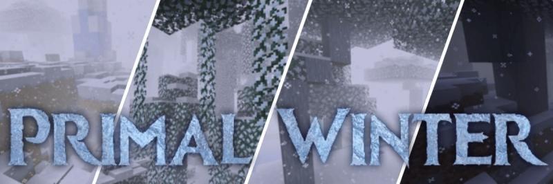 Primal Winter - зимний апокалипсис [1.16.2] [1.15.2]