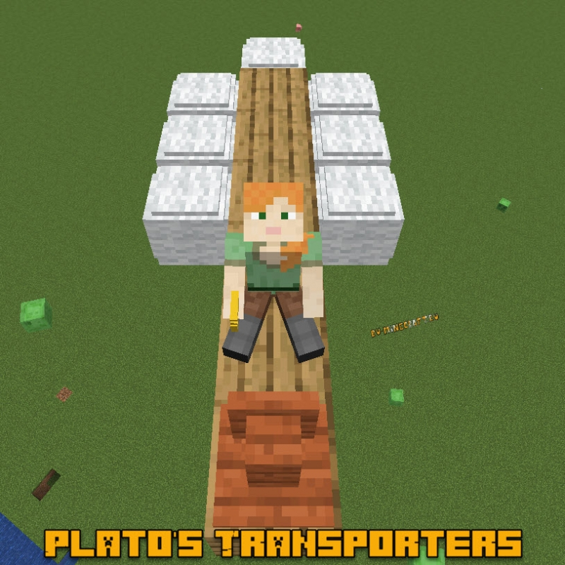 Plato's Transporters - простейший транспорт [1.16.1] [1.15.2]