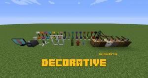 Decorative - большой выбор декоративных блоков [1.16.5] [1.15.2]