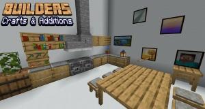 Builders Crafts & Additions - небольшой мод на новою мебель [1.17.1] [1.16.5] [1.15.2]