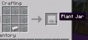 Plant In A Jar - предметы в стеклянном блоке [1.16.5]