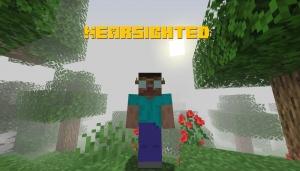 Nearsighted - плоховидящий игрок [1.15.2]