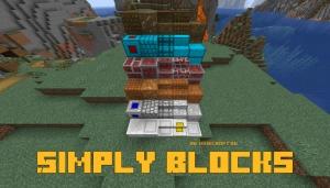 Simply Blocks - простые блоки для декора [1.16.5] [1.15.2] [1.12.2]