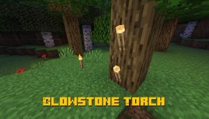 Glowstone Torch - факел из светящейся пыли [1.16.1]