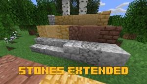 Stones Extended - новые виды камней [1.15.2]