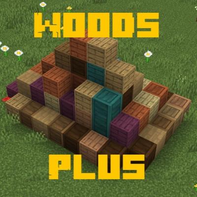 Woods Plus - больше видов дерева [1.16.2]