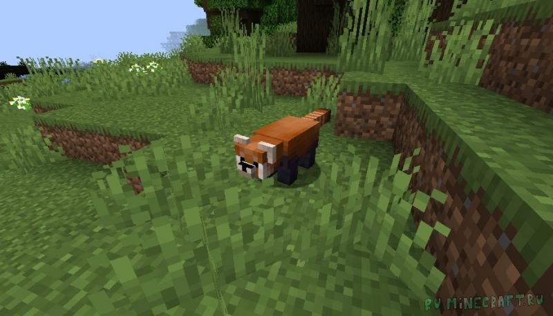Red Pandas Mod - красные панды [1.15.2] [1.14.4]