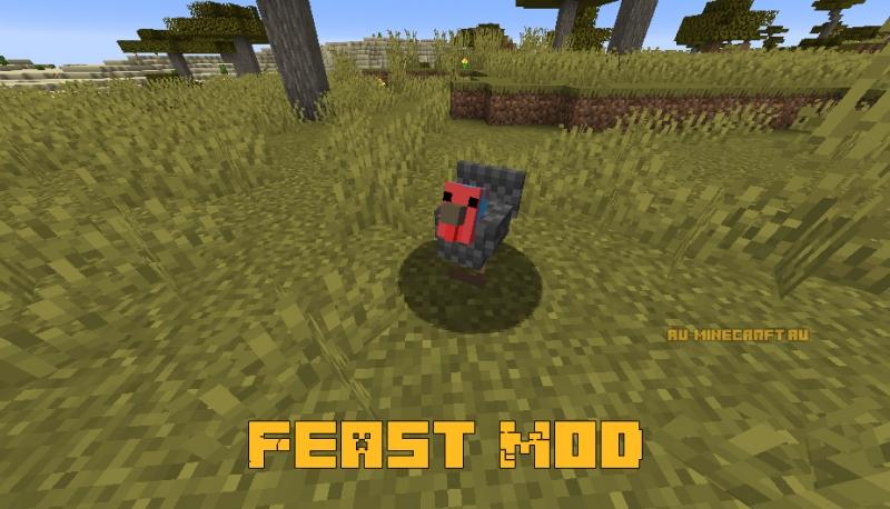 Feast Mod - индейка [1.16.1]