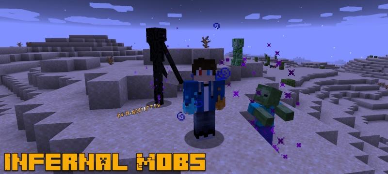 Infernal Mobs - улучшенные монстры, инфернал мобс [1.16.5] [1.15.2] [1.14.4] [1.12.2] [1.11.2] [1.7.10]