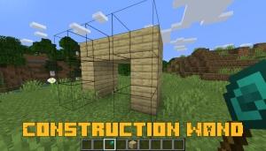 Construction Wand - строительные палочки [1.16.5] [1.15.2] [1.14.4]