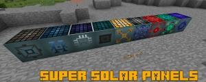 Super Solar Panels (Industrial Upgrade) - солнечные панели для индастриала [1.12.2] [1.11.2] [1.10.2] [1.7.10]