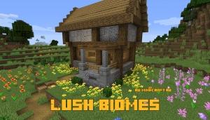 Lush Biomes - больше ярких цветов в игре + пара мобов [1.15.2]