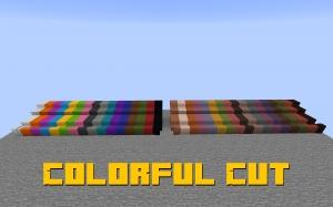 Colorful Cut - разноцветный сет блоков [1.16.2]