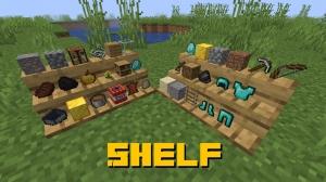 Shelf - полка для предметов [1.16.5]
