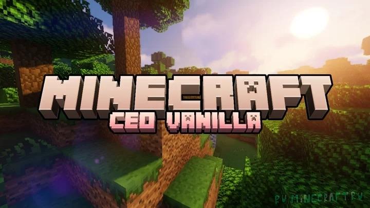 Ceo's Vanilla - измененные ванильные текстуры [1.16.2] [1.15.2] [16x]