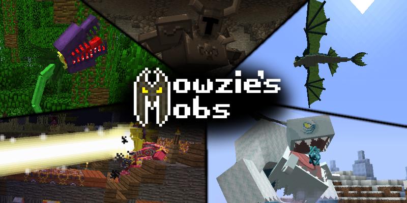 Mowzie's Mobs Mod - Хищное растение [1.16.5] [1.15.2] [1.14.4] [1.12.2] [1.11.2] [1.10.2] [1.7.10]