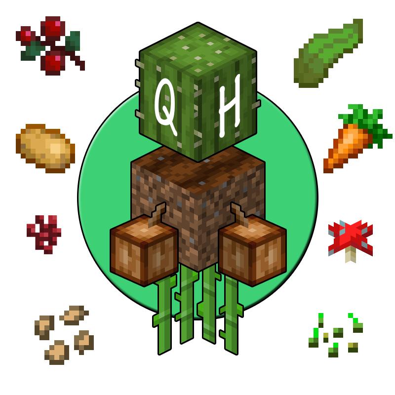 Quick Harvest - простой сбор и посев урожая [1.16.5] [1.15.2] [1.14.4]