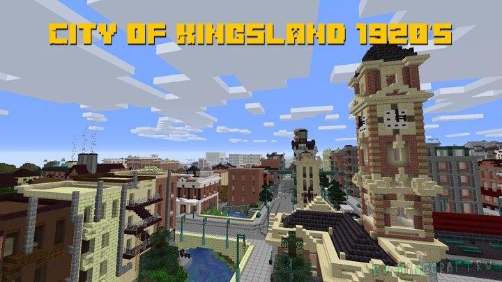 City of Kingsland 1920's - город в стиле 1920ых [1.16.3]