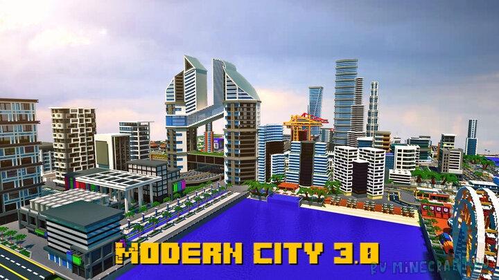 Modern City 3.0 - современный город 3.0 [1.16.3] [1.15.2]