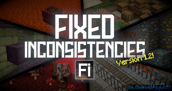 Fixed Inconsistencies - исправленные текстуры [1.16.3] [16x]