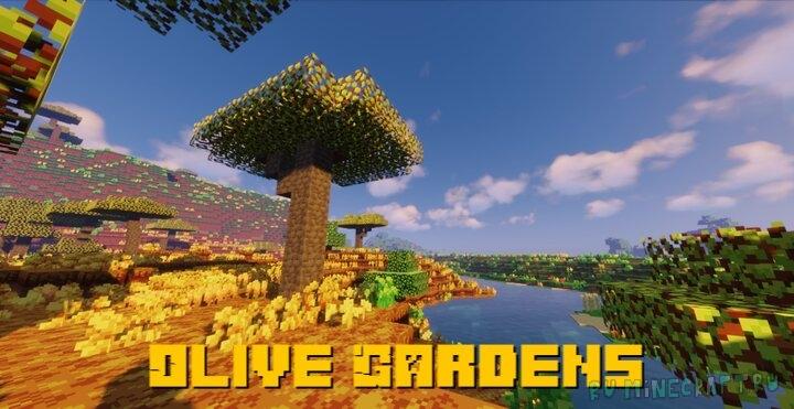 Olive Gardens - приятный ресурспак [1.16.3] [1.15.2] [16x]