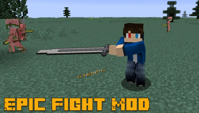 Epic Fight Mod - эпические, реалистичные анимации атаки [1.16.5] [1.14.4] [1.12.2]