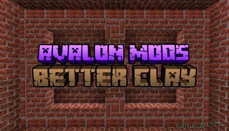 Better Clay - больше видов кирпича [1.16.2]
