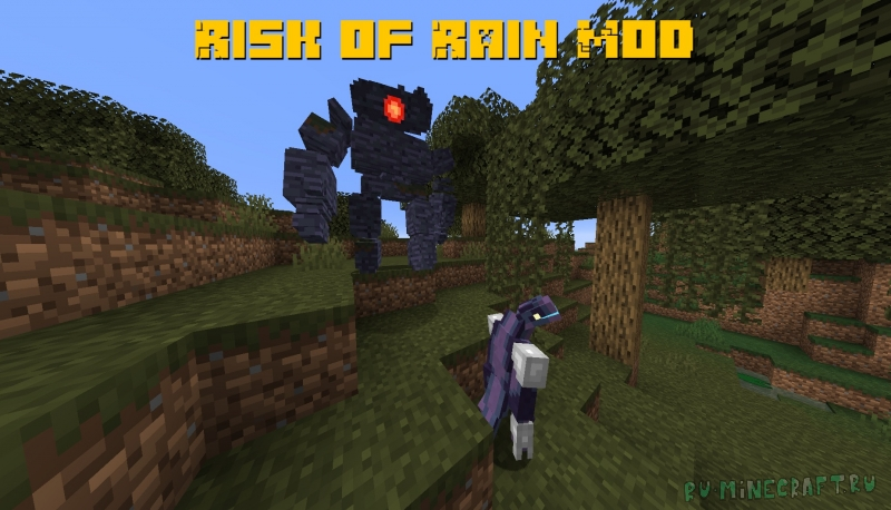 Risk of Rain Mod - мобы из риск оф раин [1.16.5] [1.15.2]