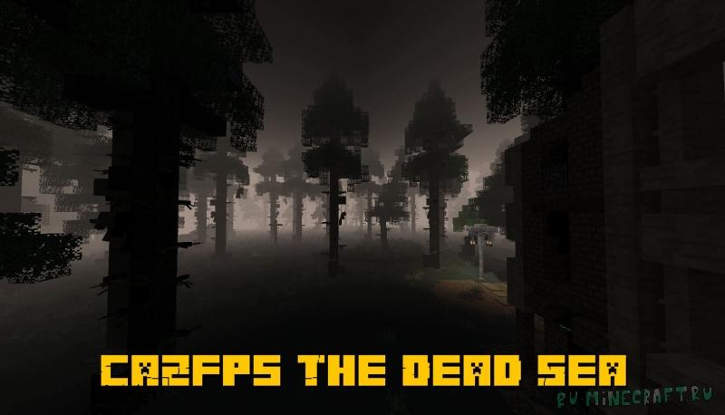 CAZfps The Dead Sea - темный постапокалиптический мир [1.16.5] [1.15.2]
