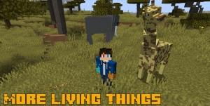 More Living Things - мобы реалистичные животные [1.16.5]