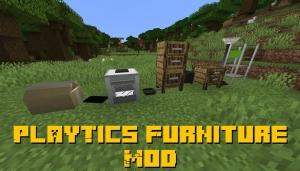 PlayTics Furniture Mod - фурнитура для дома [1.15.2]