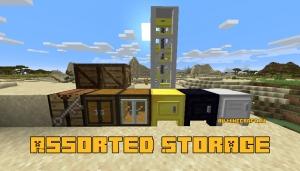 Assorted Storage - дополнительные блоки для хранения [1.16.4]