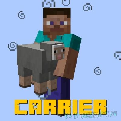 Carrier - возможность нести предметы и мобов [1.16.5]