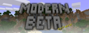 Modern Beta - новая необычная генерация мира [1.17] [1.16.5]