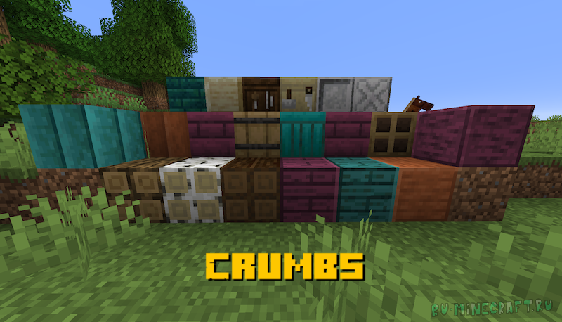 Crumbs - много новых блоков для декора [1.16.5]