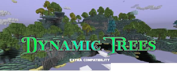 Dynamic Trees - The Aether Legacy - поддержка деревьев [1.12.2]