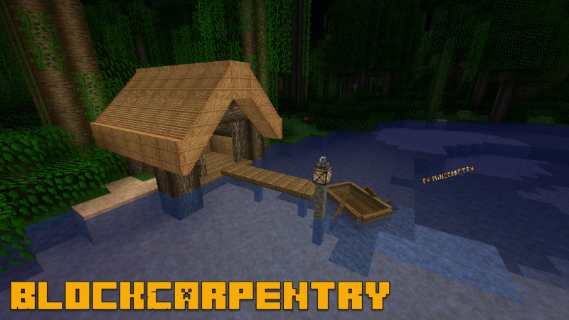BlockCarpentry (Carpenter's Blocks) - плотникдекорация [1.16.5] [1.15.2] [1.12.2] [1.10.2] [1.7.10] [1.5.2]