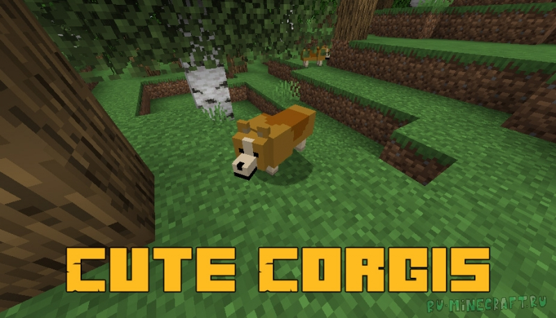 Cute Corgis - милые корги [1.15.2]