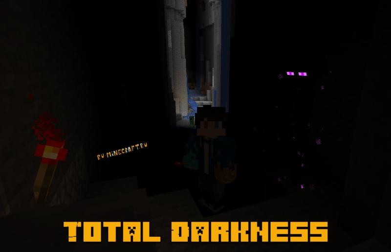 Total Darkness - полная темнота, хардкор [1.16.5]