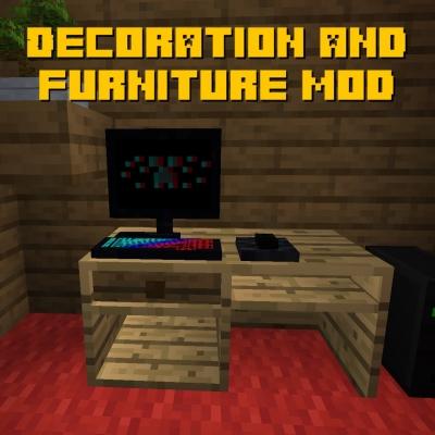 Decoration and furniture mod - ещё больше декора [1.15.2]