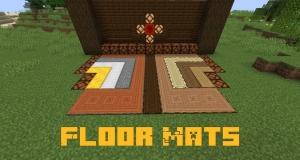 Floor Mats - блоки с возможностью нажатия (ковры, маты) [1.16.5] [1.15.2]